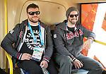 Steve Arsenault and Greg Westlake, Sochi 2014. <br /> Team Canada gets settled in at the Athlete's Village // Équipe Canada s'installe au village des athlètes. 01/03/2014.