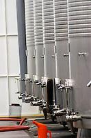 Fermentation tanks. Quinta do Carmo, Estremoz, Alentejo, Portugal
