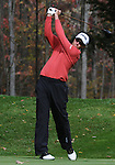 4 October 2008: Nick O'Hearn watches a tee shot during the third round at the Turning Stone Golf Championship in Verona, New York.