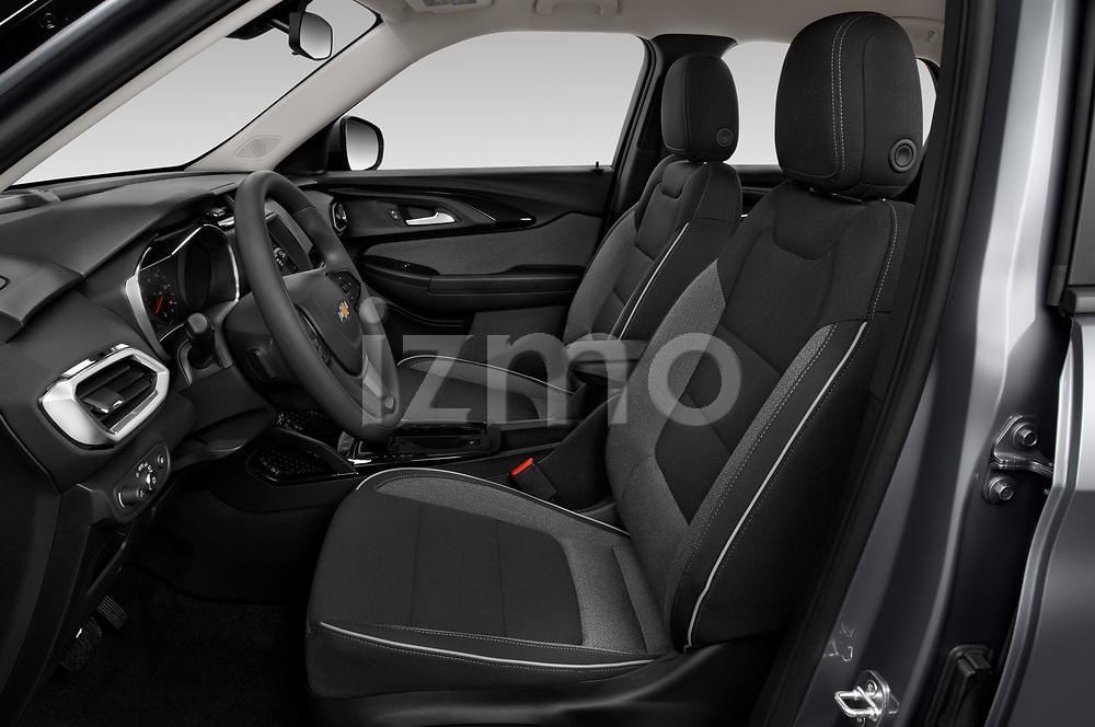 Front seat view of a 2021 Chevrolet Trailblazer LT 5 Door SUV