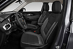 Front seat view of 2021 Chevrolet Trailblazer LT 5 Door SUV Front Seat  car photos