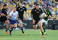 25th September 2021; Townsville, Gold Coast, Australia;  Codie Taylor open field run. All Blacks versus Springboks. The Rugby Championship. 100th Rugby Union test match between New Zealand and South Africa.