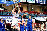 27-02-2021: Basketbal: Donar Groningen v Den Helder Suns: Groningen Donar speler Damjan Rudez probeert te scoren