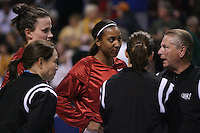 29 March 2008: Jillian Harmon and Candice Wiggins during Stanford's 72-53 win over Pitt in the sweet sixteen game of the NCAA Division 1 Women's Basketball Championship in Spokane, WA.