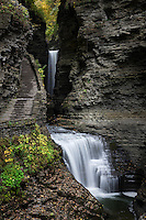 Waterfall, Watkins Glen State Park, Watkins Glen, New York, USA