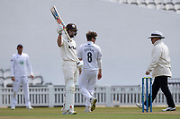 Ollie Pope of Surrey CCC acknowledges his 50 during Surrey CCC vs Hampshire CCC, LV Insurance County Championship Group 2 Cricket at the Kia Oval on 30th April 2021