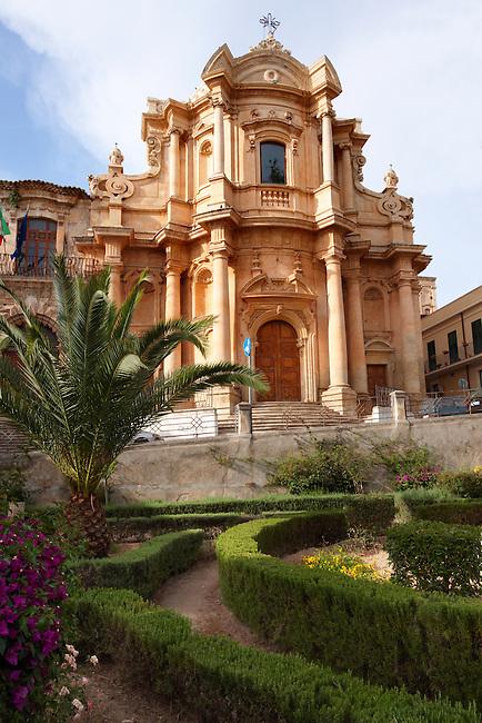 Baroque Church of St Dominico - Noto, Sicily