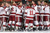 - The Harvard University Crimson defeated the visiting Bentley University Falcons 5-0 on Saturday, October 27, 2012, at Bright Hockey Center in Boston, Massachusetts.