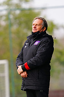 Head Coach Patrick Wachel (Anderlecht) pictured during a female soccer game between Standard Femina de Liege and RSC Anderlecht on the 9th matchday of the 2020 - 2021 season of Belgian Scooore Womens Super League , saturday 12 th of December 2020  in Angleur , Belgium . PHOTO SPORTPIX.BE   SPP   SEVIL OKTEM