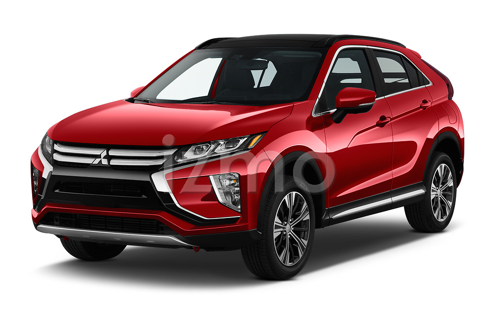2019 Mitsubishi Eclipse-Cross SEL 5 Door SUV angular front stock photos of front three quarter view