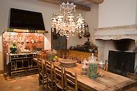 """Europe/France/Languedoc-Roussillon/30/Gard/Nîmes: Hotel-Chambres d'Hotes """"Jardins Secrets""""- la Cuisine"""