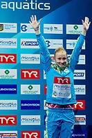 Anastasiia NEDOBIGA UKR Bronze medal<br /> 3m. springboard women <br /> LEN European Diving Championships 2017<br /> Sport Center LIKO, Kiev UKR<br /> Jun 12 - 18, 2017<br /> Day04 15-06-2017<br /> Photo © Giorgio Scala/Deepbluemedia/Insidefoto