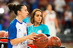 Perfumeries Avenida's player Silvia Dominguez during the 3 shot contest of Supercopa of Liga Endesa Madrid. September 24, Spain. 2016. (ALTERPHOTOS/BorjaB.Hojas)