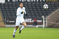 Sunday 18 March 2018<br /> Pictured:  Kenji Gorre of Swansea City <br /> Re: Swansea City v Manchester United U23s in the Premier League 2 at The Liberty Stadium on March 18, 2018 in Swansea, Wales.
