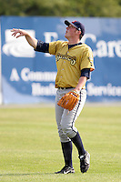 July 7th 2008:  Pitcher Mike Colla of the State College Spikes, Class-A affiliate of the Pittsburgh Pirates, during a game at Damaschke Field in Oneonta, NY.  Photo by:  Mike Janes/Four Seam Images