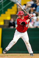 21 April 2007: University of Hartford Hawks' Ryan Crowley, a Senior from Plainville, CT, in action against the University of Vermont Catamounts at Historic Centennial Field, in Burlington, Vermont. The Catamounts defeated the Hawks 3-2 to sweep the afternoon double-header...Mandatory Photo Credit: Ed Wolfstein Photo