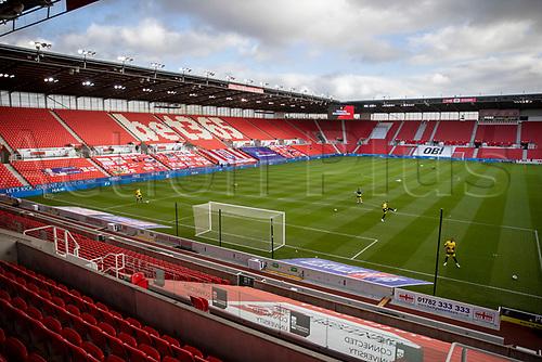 31st October 2020; Bet365 Stadium, Stoke, Staffordshire, England; English Football League Championship Football, Stoke City versus Rotherham United; An empty Bet365 Stadium due to the pandemic