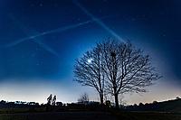 2018 02 24 Starry night in Caerleon, Wales, UK
