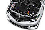 Car Stock 2018 Toyota Corolla-iM CVT-Automatic 5 Door Hatchback Engine  high angle detail view