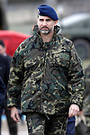 """Prince Felipe of Spain during exercise """"GAMMA PALAZUELOS 2013"""" of the MIlitary Unit of Emergency (UME).March 11 ,2013. (ALTERPHOTOS/Acero)"""