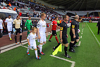 Pictured: Alan Tate of Swansea. Tuesday 28 August 2012<br /> Re: Capital One Cup game, Swansea City FC v Barnsley at the Liberty Stadium, south Wales.