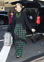 October 10, 2019  Penelope Ann Miller at Good Morning America to talk about Lifetime movie The College Admissions Scandal in New York. October 10, 2019 Credit:  RW/MediaPunch