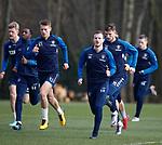 01.03.2019: Rangers training: Andy Halliday