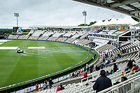 A general view of the Hampshire Bowl as the mopping up process gets underway during India vs New Zealand, ICC World Test Championship Final Cricket at The Hampshire Bowl on 18th June 2021