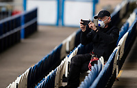 A member of the media takes a photo<br /> <br /> Photographer Alex Dodd/CameraSport<br /> <br /> The EFL Sky Bet Championship - Huddersfield Town v Wigan Athletic - Saturday 20th June 2020 - John Smith's Stadium - Huddersfield <br /> <br /> World Copyright © 2020 CameraSport. All rights reserved. 43 Linden Ave. Countesthorpe. Leicester. England. LE8 5PG - Tel: +44 (0) 116 277 4147 - admin@camerasport.com - www.camerasport.com