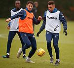 05.02.2019: Rangers training: Nikola Katic and James Tavernier