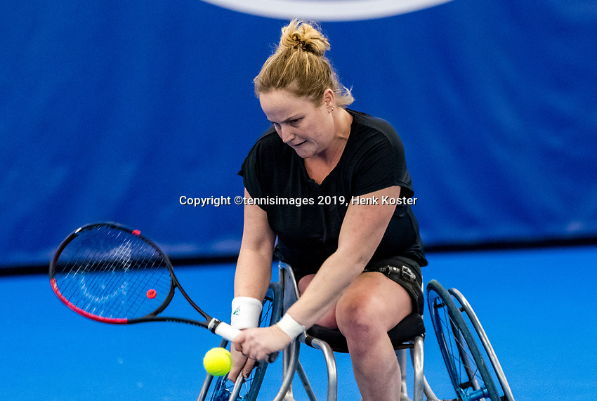 Amstelveen, Netherlands, 8  December, 2020, National Tennis Center, NTC, NKR, National  Indoor Wheelchair Tennis Championships, Men's single: <br /> Photo: Henk Koster/tennisimages.com