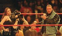 Stephanie McMahon Triple H  2001                                                                    Photo by  John Barrett/PHOTOlink
