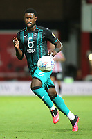 Marc Guehi of Swansea City in action during Brentford vs Swansea City, Sky Bet EFL Championship Play-Off Semi-Final 2nd Leg Football at Griffin Park on 29th July 2020