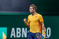 Rotterdam, The Netherlands, 5 march  2021, ABNAMRO World Tennis Tournament, Ahoy,  Quarter final:  Borna Coric (CRO)<br /> Photo: www.tennisimages.com/henkkoster