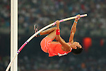 Seito Yamamoto (JPN), <br /> AUGUST 22, 2015 - Athletics : <br /> 15th IAAF World Championships in Athletics Beijing 2015 <br /> Men's Pole Vault Qualification <br /> at Beijing National Stadium in Beijing, China. <br /> (Photo by YUTAKA/AFLO SPORT)