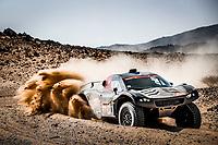 6th January 2021; Wadi Al Dawasir to Riyadh, Saudia Arabia; Dakar 2021 Rally, stage 4;  348 Leroy Alexandre (bel), Delangue Nicolas (fra), Buggy, SRT Racing, Auto, action during the 4th stage of the Dakar 2021 between Wadi Al Dawasir and Riyadh, in Saudi Arabia on January 6, 2021