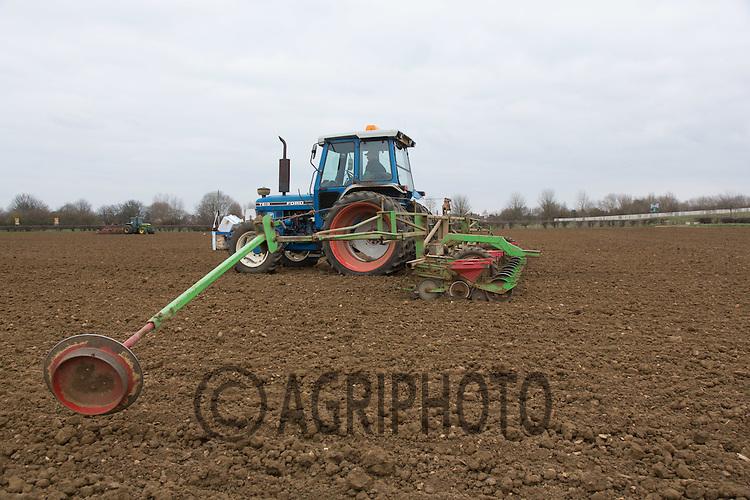 Drilling sugar beet<br /> Picture Tim Scrivener 07850 303986 <br /> scrivphoto@btinternet.com<br /> ….covering agriculture in the UK….