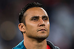 Goalkeeper Keylor Navas of Real Madrid prior to the UEFA Champions League 2017-18 match between Real Madrid and Tottenham Hotspur FC at Estadio Santiago Bernabeu on 17 October 2017 in Madrid, Spain. Photo by Diego Gonzalez / Power Sport Images