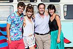 "Spanish actors Eduardo Casanova, Silvia Alonso, Jordi Sanchez and Megan Montanier during the filming of the movie "" Senor, dame paciencia"" directed by Alvaro Diaz. September 06, 2016. (ALTERPHOTOS/Rodrigo Jimenez)"