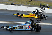 Richie Crampton, Kalitta Air/DHL, Top Fuel Dragster, Antron Brown, Matco Tools, Top Fuel Dragster