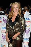 Sarah Jane Mee<br /> arriving for the Pride of Britain Awards 2018 at the Grosvenor House Hotel, London<br /> <br /> ©Ash Knotek  D3456  29/10/2018