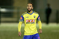Roman Michael-Percil of Haringey Borough during Haringey Borough vs Potters Bar Town, Pitching In Isthmian League Premier Division Football at Coles Park Stadium on 28th September 2021