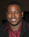 Quinton Aaron at Alcon Entertainment's L.A. Premiere of The Book of Eli held at The Chinese Theatre in Hollywood, California on January 11,2010                                                                   Copyright 2009 DVS / RockinExposures