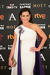 Belen Lopez attends 30th Goya Awards red carpet in Madrid, Spain. February 06, 2016. (ALTERPHOTOS/Victor Blanco)