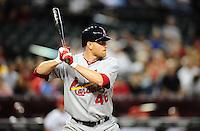 Apr. 11, 2011; Phoenix, AZ, USA; St. Louis Cardinals pitcher Kyle McClellan against the Arizona Diamondbacks at Chase Field. Mandatory Credit: Mark J. Rebilas-