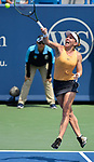 August  14, 2019:  Simona Halep (ROU) defeated Ekaterina Alexandrova (RUS 3-6, 7-5, 6-4, at the Western & Southern Open being played at Lindner Family Tennis Center in Mason, Ohio. ©Leslie Billman/Tennisclix/CSM