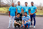 Runners in Kenmre who are taking part in the Sanctuary Run, Front row from left, Brhane Okbatsen and Issack Nurow. Back row left Mubarak Abdi Ismael, Semere Yemane, Adhanom Nguse, Yosief Anedemichael.
