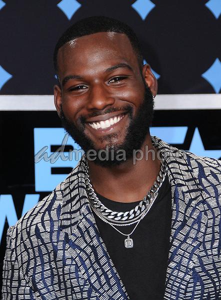 25 June 2017 - Los Angeles, California - Kofi Siriboe. 2017 BET Awards held at the Microsoft Square in Los Angeles. Photo Credit: Birdie Thompson/AdMedia