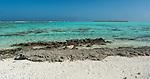 Lagoon in Maupiti, French Polynesia