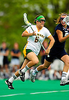 1 May 2010: University of Vermont Catamount midfielder/attacker Samantha Stern, a Sophomore from Cherry Hill, NJ, in action against the University of New Hampshire Wildcats at Moulton Winder Field in Burlington, Vermont. The Lady Catamounts fell to the visiting Wildcats 18-10 in the last game of the 2010 regular season. Mandatory Photo Credit: Ed Wolfstein Photo